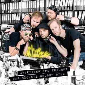 Arbeitsgruppe Zukunft - Das nächste große Ding - CD (Cover)