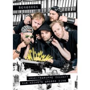 Arbeitsgruppe Zukunft - Das nächste große Ding - Songbook (Cover)
