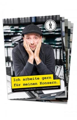 Ich arbeite gern für meinen Konzern (Poster-Set)